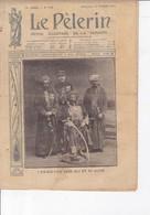 LE PELERIN 1910 13 Février Les Inondations à Paris Et En Province, L'ex Sultan Saïd Ali Et Sa Suite, ... - 1900 - 1949