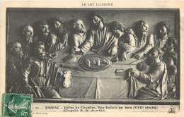 FIGEAC - EGLISE DU CHAPITRE, BAS RELIEFS EN BOIS - CHAPELLE N.D. DE PITIE - Figeac