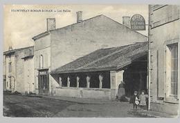 Frontenay    Rohan  Rohan   Les Halles Hôtel Et Café  Poplineau - Berthouin - Frontenay-Rohan-Rohan