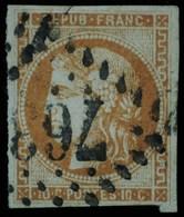 N°43   O 763 Castelnaudary - 1870 Emission De Bordeaux
