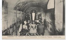 PARIS MONTMARTRE  CABARET DU NEANT LOT DE 6 CARTES - Cabarets