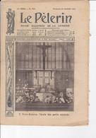 """LE PELERIN 1910 20 Février Les Inondations à Paris Le Naufrage Du """"Général Chanzy"""",sur La Jungfrau, Explosion D'auto... - 1900 - 1949"""