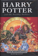 Harry Potter And The Deathly Hallows By J.K. Rowling (Hardback) - Fantastiques