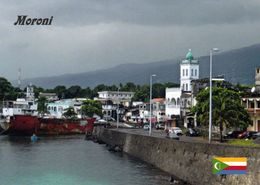 1 AK Komoren * Moroni - Hauptstadt Und Größte Stadt Der Komoren - Moroni Liegt Auf Der Insel Grande Comore * - Comores