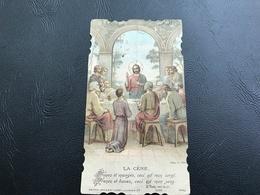 5288 - LA CÈNE Prenez Et Mangez Ceci Est Mon Corps... Eglise De MONTANAY (Rhone) 1933 - Santini