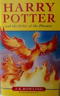 Harry Potter And The Order Of The Phoenix By J.K. Rowling (Hardback) - Fantastiques
