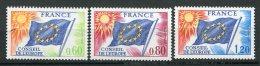 6784   FRANCE  Service  46/8**   Conseil De L'Europe : Drapeau  Type De 1958-59     1975   TTB - Neufs