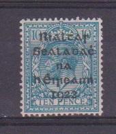 Irlande / N 11  / 10 P Bleu / NEUF Avec Trace De Charnière - 1922-37 Irish Free State