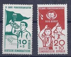180028138  ALEMANIA  DDR.  YVERT   Nº 365/6  **/MNH - [6] República Democrática