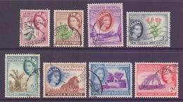 Southern Rhodesia 1953 Elizabeth II, Various Values To 2/- SG78/87 - Southern Rhodesia (...-1964)