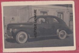 Carte Photo--Belle Voiture A Determiner--Madame Au Volant - Passenger Cars