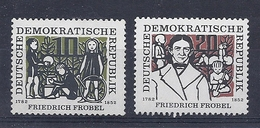 180028143  ALEMANIA  DDR.  YVERT   Nº 289/90  **/MNH - [6] República Democrática