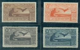 ITALIE PA N° 21 / 24 Nxx Bimillénaire Naissance De Virgile TB.cote : 350 € Rare. - 1900-44 Victor Emmanuel III