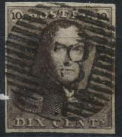 Belgique (1849) N 1 (o) (C100 E20) - 1849 Epaulettes