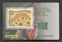 ITALIA TESSERA FILATELICA 2017 - ITALIAFIL GENOVA 06 OTTOBRE 2017 - 780 - 6. 1946-.. Republic
