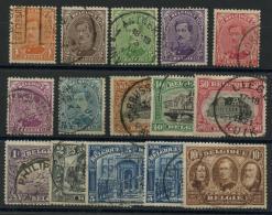 Belgique (1915) N 135 A 149 (o) - 1914-1915 Rotes Kreuz