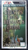 CUENTOS DE LOS HERMANOS GRIMN - CENTRO DE HISTORIA DE ZARAGOZA. - Publicidad