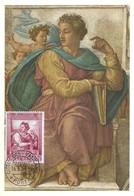 Profeta Esalas Michelangelo, 16.6. 1964, L25 (2scans) - Cartes-Maximum (CM)