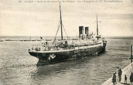 BATEAU PAQUEBOT(TIMGAD) ALGER - Steamers