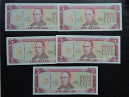 LIBÉRIA : 5 DOLLARS  2003   P 26a    SPL  X 5 - Coins & Banknotes