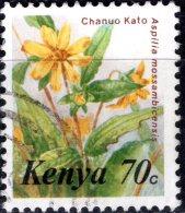 KENYA 1983 Flowers - 70c. - Chanuo Kato FU - Kenya (1963-...)