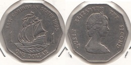East Caribbean States 1$ Dollar 1995 Km#20 - Used - Caraibi Orientali (Stati Dei)