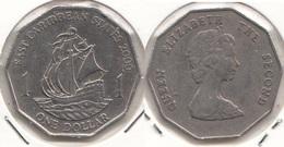 East Caribbean States 1$ Dollar 2000 Km#20 - Used - Caraibi Orientali (Stati Dei)