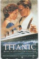 Télécarte Japon : Film Titanic - Cine