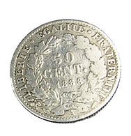 50 Centimes - Cérès - France - 1888 A - TB - Argent - - G. 50 Centimes