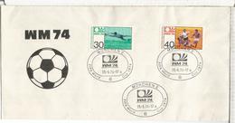 ALEMANIA MUNCHEN 1974 COPA MUNDIAL DE FUTBOL FIFA FOOTBALL - Copa Mundial