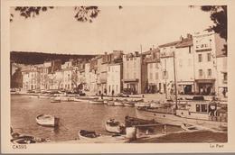 Cassis - Le Port (CP Vierge) - Cassis