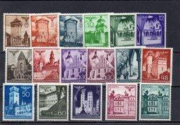 GENERALGOUVERNEMENT 1940-1 * 10 G. VERT JAUNE DEFECTEUX - Occupation 1938-45