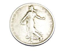 1 Franc -  Semeuse  - France - 1909 - TB+ - Argent - - H. 1 Franc