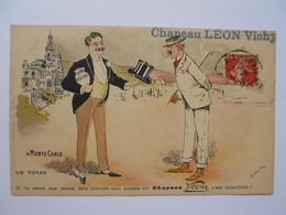 Chapeau Léon Vichy A Monte-Carlo Un Tuyau - Hotels
