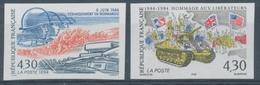 1994 France N°2887 + 2888 Non Dentelés Neufs Luxe ** COTE 92€ D1178 - No Dentado
