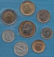 ITALIA LOT COINS 8 MONNAIES 1979-1998 UNC - Italie