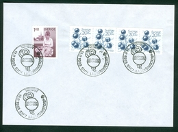Sweden  1983 Scouts Scout Commemorative Cancel Letter Torsby Lace Prunus Spinosa - Belgien