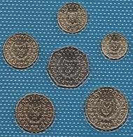 CYPRUS LOT COINS 6 MONNAIES 2002-2004 UNC - Cyprus