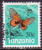TANZANIA 1979 SG #269 50c On 70c Used - Tanzania (1964-...)