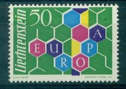 LIECHTENSTEIN N°355 N Xx EUROPA 1960 Cote 120 € TB. - Liechtenstein
