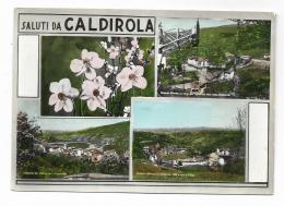SALUTI DA CALDIROLA - VEDUTE - VIAGGIATA FG - Alessandria
