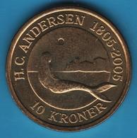 DANMARK 10 Kroner 2005 H.C.ANDERSEN 1805-2005 Little Mermaid KM# 900 MARGRETHE II - Danemark
