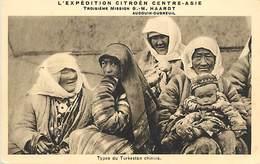 D-18-293 : EXPEDITION CITROËN CENTRE ASIE. TYPES DU TURKESTAN CHINOIS - Turkménistan