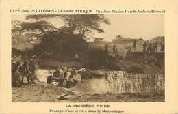 D-18-294 : EXPEDITION CITROËN CENTRE AFRIQUE. LA CROISIERE NOIRE. RIVIERE - Mozambique