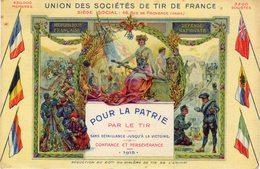 UNION DES SOCIETES DE TIR DE FRANCE - Waffenschiessen
