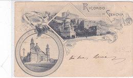 CARD GENOVA  RICORDO DI....VEDUTINE     1900 -FP-V-2-0882 28080 - Genova (Genoa)