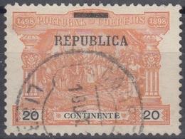 PORTUGAL 1911 Nº 186 USADO - Oblitérés