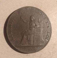 TOKEN JETON GETTONE MEDAGLIA MONNERON FRERES NEGOCIA A PARIS 1791 - Monétaires / De Nécessité
