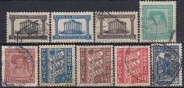 PORTUGAL 1935-1936 Nº 576/84 USADO - Oblitérés