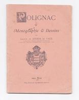 Polignac, Monographie Et Dessins, Gaston De Jourda De Vaux (Haute-Loire, 42, Le Puy-en-Velay) - Auvergne